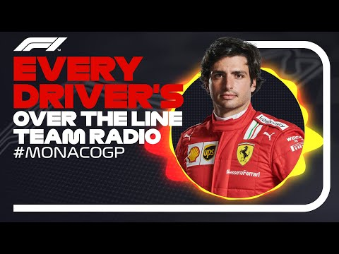 Every Driver's Radio At The End Of Their Race | 2021 Monaco Grand Prix