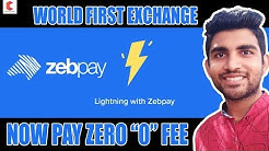 ⚡ZEBPAY world first exchange with lightning network, live demo - CRYPTOVEL