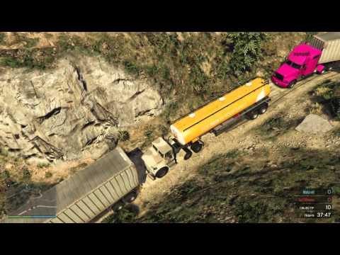 Grand Theft Auto V Convoi Exceptionnel