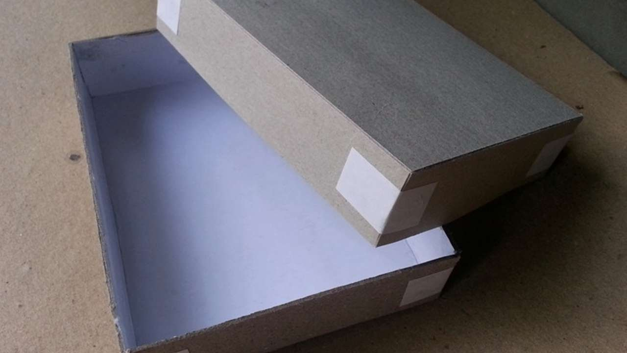 How To Make Easy Cardstock Gift Box