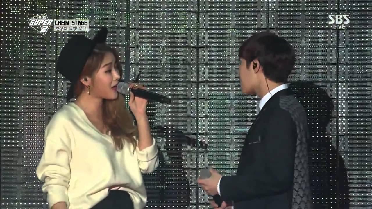 special stage sistar soyu feat infinite sunggyu btob