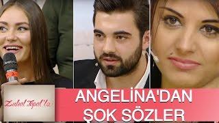 Zuhal Topal'la 98. Bölüm (HD) | Serkan'ın Güzel Talibi Dilek'e Angelina'dan Şok Sözler!