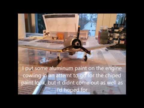 Building model SBD Dauntless
