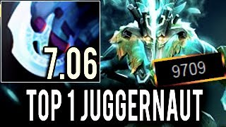WTF! Machine Gun Arcana Ninja Top 1 Juggernaut by Paparazi 10k MMR COMING! Perfect Game 7.06 Dota 2