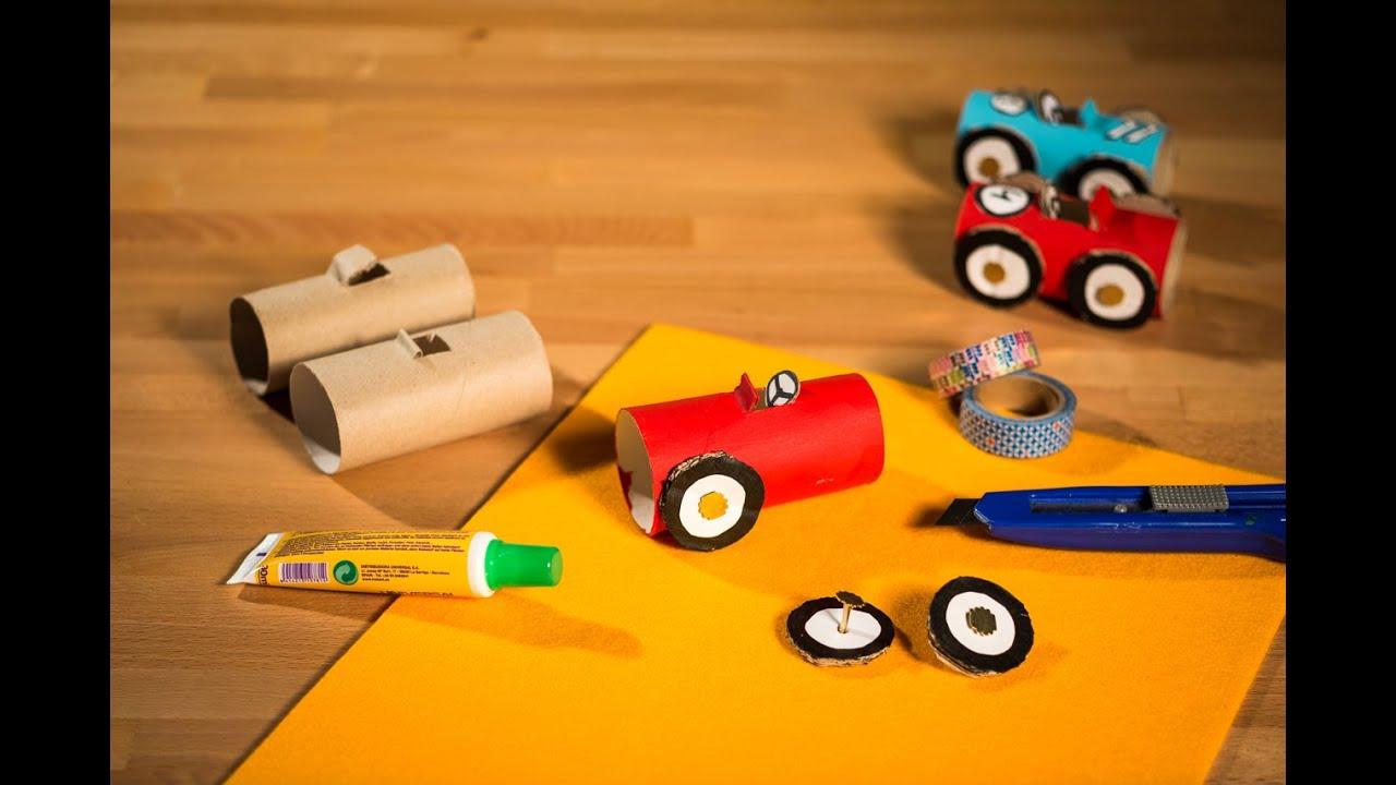Como hacer un coche reciclado you manualidades youtube - Como hacer manualidades ...