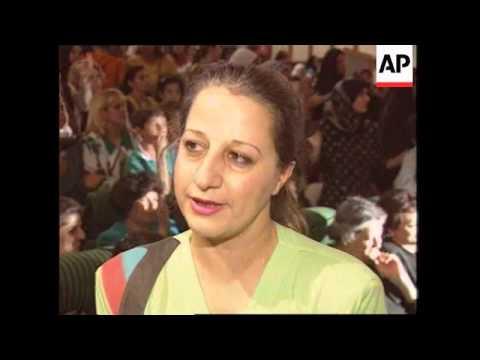 Iraq - Women rally in support of Saddam Hussein