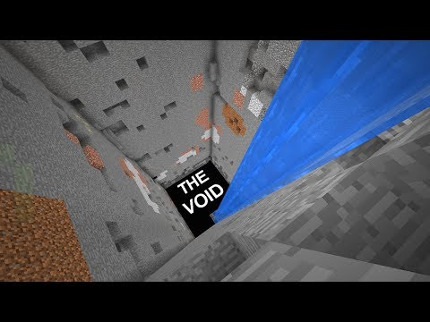 I sent my friends into THE VOID in Minecraft