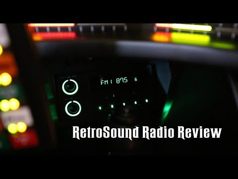 Knight Rider Kitt Replica. RetroSound Newport review!
