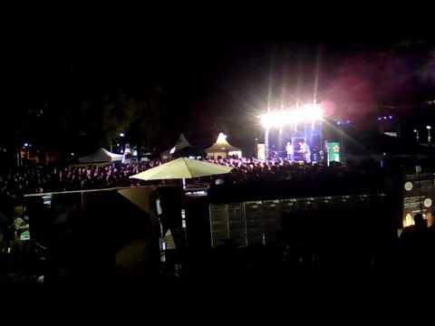 Khary concert fm4 (Karlsplatz) Vienna view