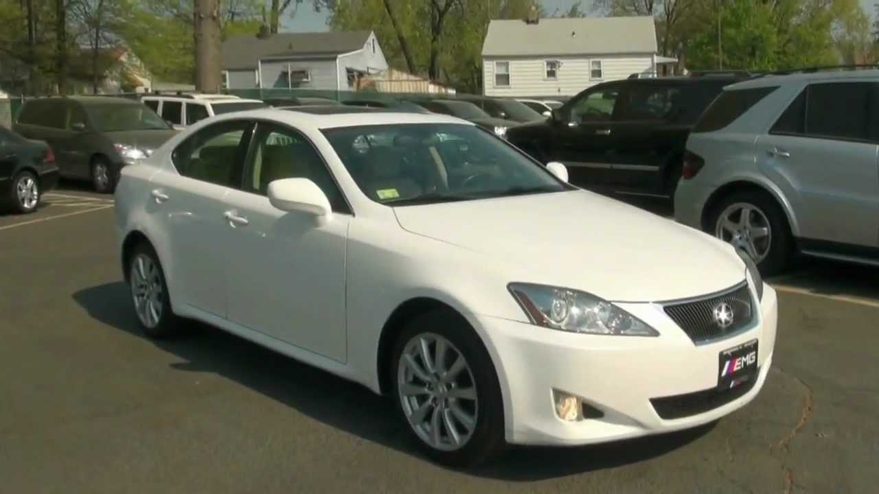 2007 Lexus IS 250 AWD All Wheel Drive Sedan   YouTube