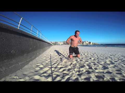 Extreme Leg STRENGTH AND ENDURANCE WORKOUT on Soft Sand at Bondi Beach