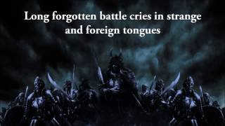 Amon Amarth - Tattered banners and bloody flags (lyrics)