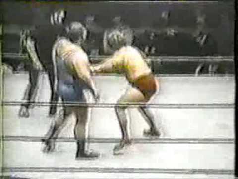 Ric Flair Vs Chris Taylor AWA 1974 YouTube