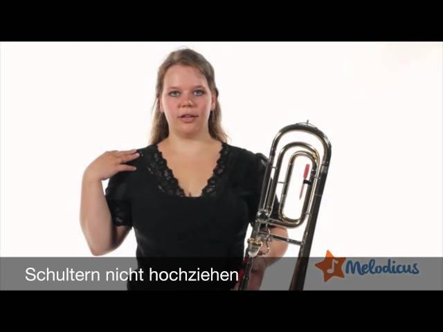 Posaune online lernen mit Melodicus - Die Atmung