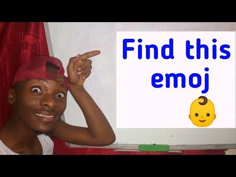 Download Find this emoj 👶