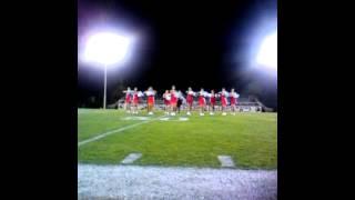Kerman High School Song first halftime dance 2012!