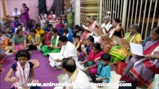 Aniruddha Bapu - Shree Rudrabhishek seva at Shree Aniruddha Gurukeshetram -  28 November 2016