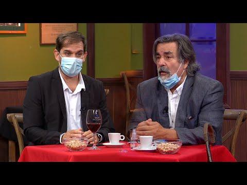 Gustavo Zubía y el Dr. Eduardo Regueira