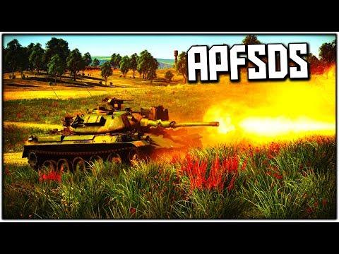 APFSDS on the TYPE 74! (War Thunder)