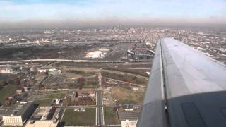 McDonnell Douglas DC-9 landing in Philadelphia on Delta Airlines