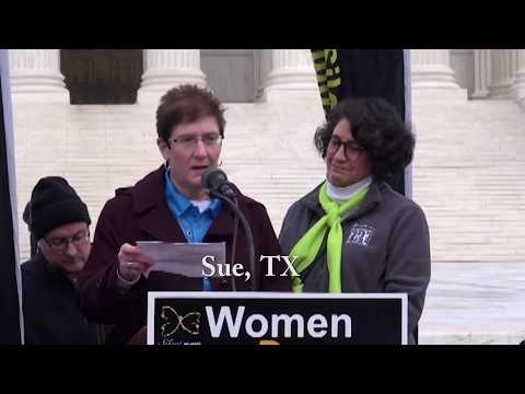 Sue's 2020 March for Life Testimony