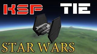 KSP Как Сделать TIE Fighter-Имперский Истребитель (Звездные Войны)