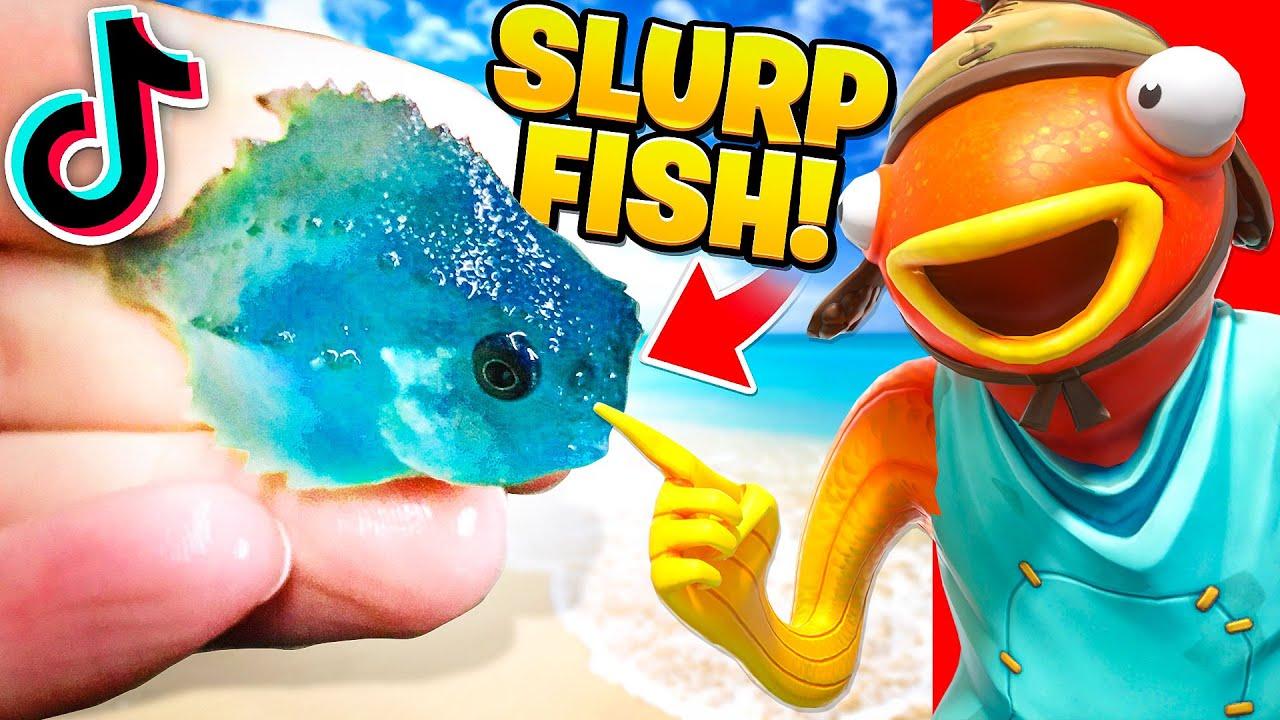 Download REAL SLURP FISH!