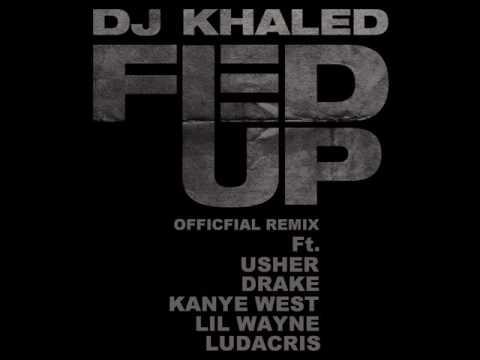 Fed Up  Remix NEW 2009  Usher Ft Kanye, Wayne, Luda & Drake wDownload Link