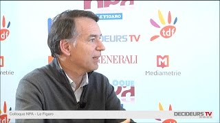 Colloque NPA-Le Figaro 2015 : Jean-François Gallouin, Paris & Co