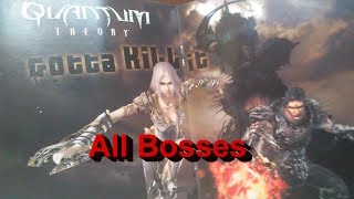 Quantum Theory All Bosses HARD PS3