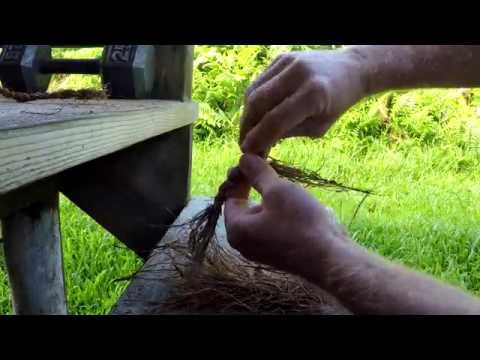 How To Make Coconut Fiber Rope