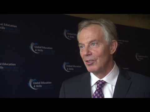 Ex-PM Tony Blair speaks about the Global Teacher Prize