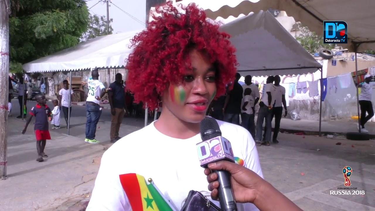 Aprés match Sénégal Pologne  les Sénégalais félicitent le travail du coach