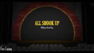 All Shook Up  3D rendering of Scenic design by Eric Luchen