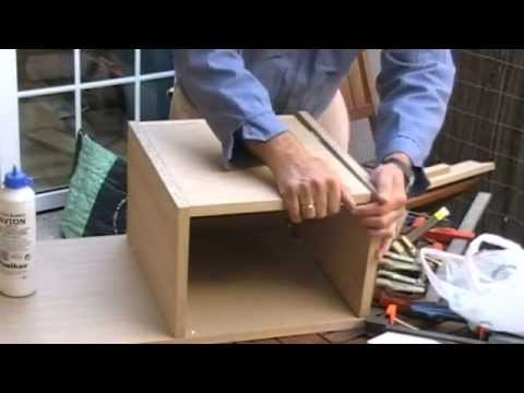 Como hacer tu propio vanitory en casa doovi - Como hacer un mueble de bano ...