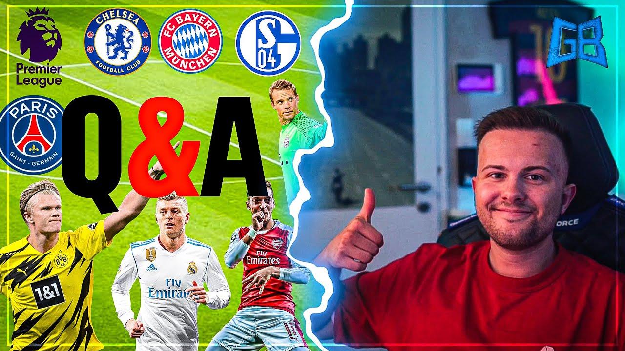 GamerBrother XXL Fußball TALK + Q&A 😱⚽️    GamerBrother Stream Highlights