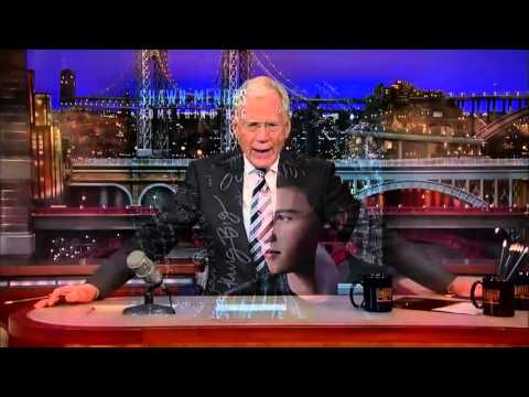 Shawn Mendes - Something Big (Live on David Letterman)