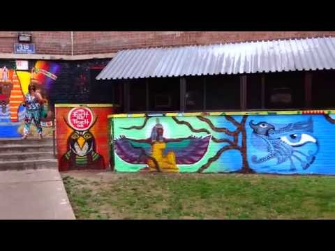 NY UNIVERSAL VISUAL ARTIST UPRISING - EACH ONE TEACH ONE- Mural-  2016