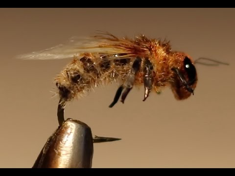 Realistic Microchenille Body Bee Fly...very Simple...