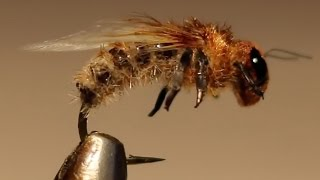realistic microchenille body bee fly very simple