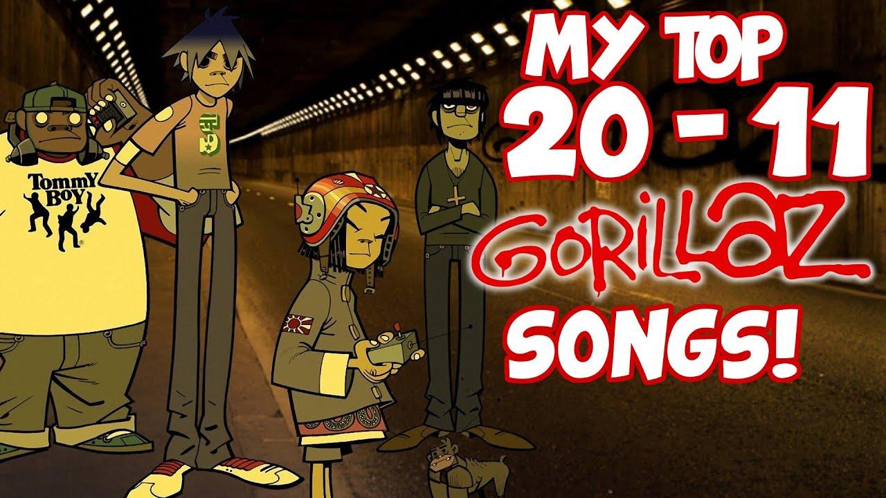 My Top 20-11 Gorillaz Songs!