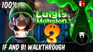 Luigi's Mansion 3 100% Walkthrough Part 1 - Grand Lobby and Basement (1F and B1)