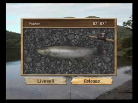 Reel Fishing: Angler's Dream (Wii) - Gameplay Trailer