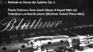 J  Andersen Ballade et Danse des Sylphes Op  5