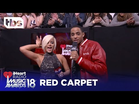 Bebe Rexha: The Joker's Wild at 2018 iHeartRadio Music Awards | Red Carpet Interview | TBS