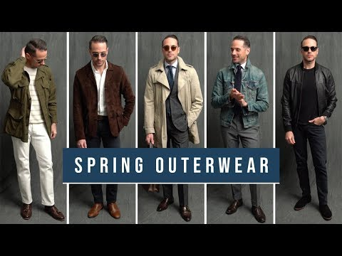 5 Jackets You Must Have For Spring | Essential Spring Outerwear | Men's Fashion Lookbook 2019