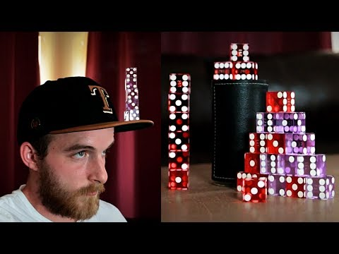 EXTREME Dice Stacking!