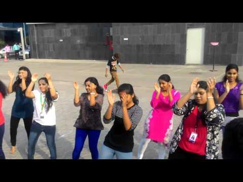 CSC India - Hyderabad flash mob