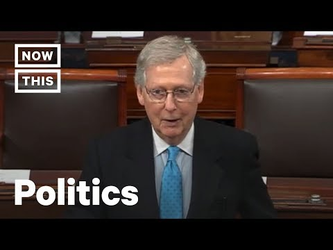 Why Mitch McConnell Thinks a Federal Election Holiday Is a Bad Idea   NowThis