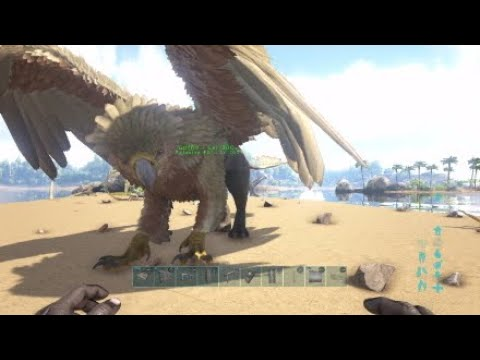 ARK|How to spawn in a GRIFFIN w/CONSOLE COMMANDS (ANY LEVEL YOU WANT!?!?)